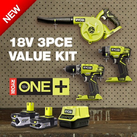 NEW 18V 3PC VALUE KIT